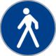 Zona pedonale / marciapiedi