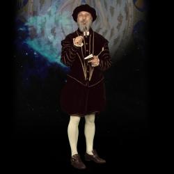 La porta con Galileo Galilei